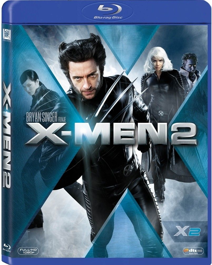 X Men 2 2003 Hindi Dubbed Brrip Wolverine Movie X Men Blu Ray Movies
