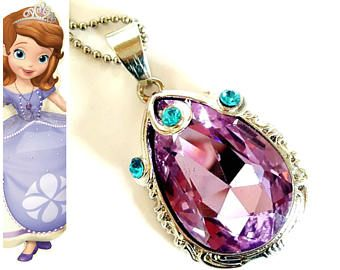 Pink Brand New Sofia the First Amulet Costume Accessory