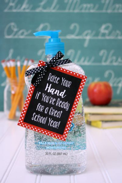 Back To School Teacher Gift Under 5 Hand Sanitizer Back To