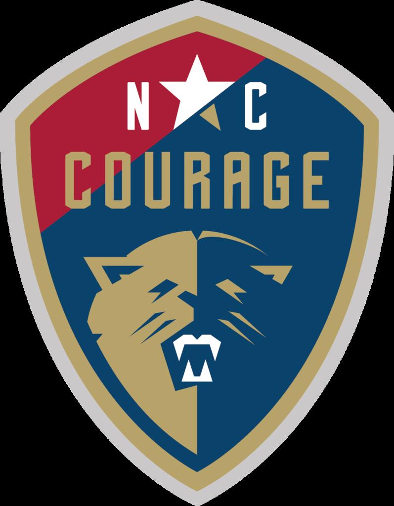 NC Courage Car Soccer logo, Soccer league