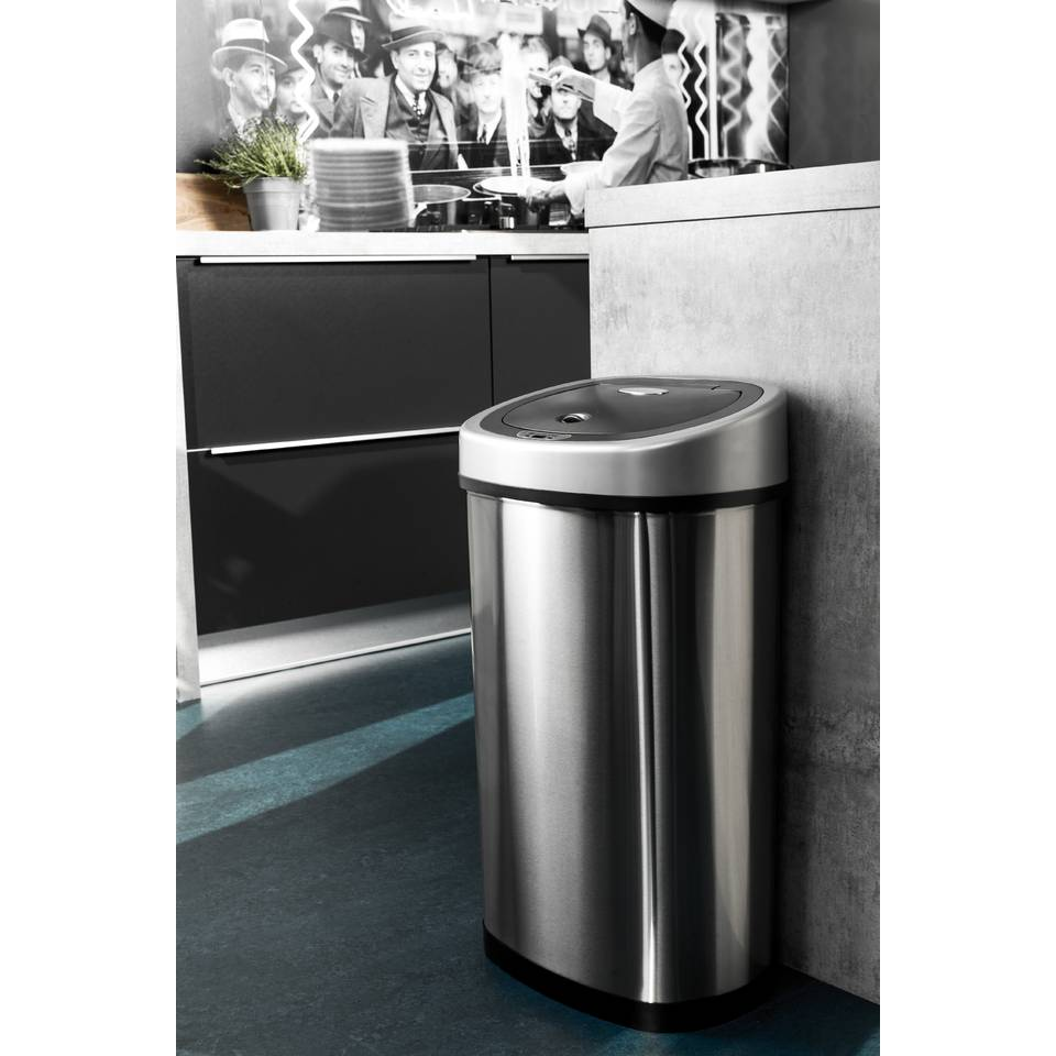 Brabantia Touch Bin 50 Liter Blokker.Homra Fonix Afvalemmer 50 Liter Met Sensor Blokker