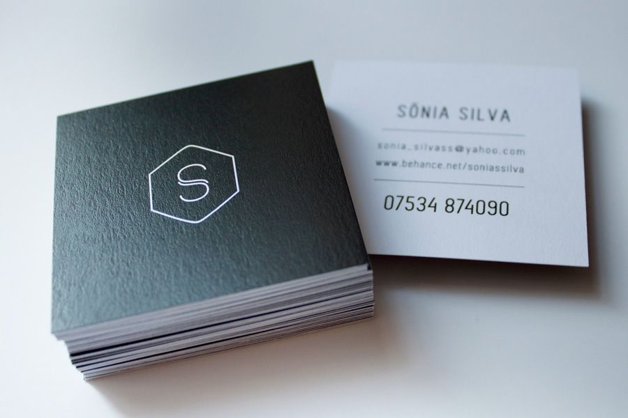 square business cards | H stuff | Pinterest | Business cards ...