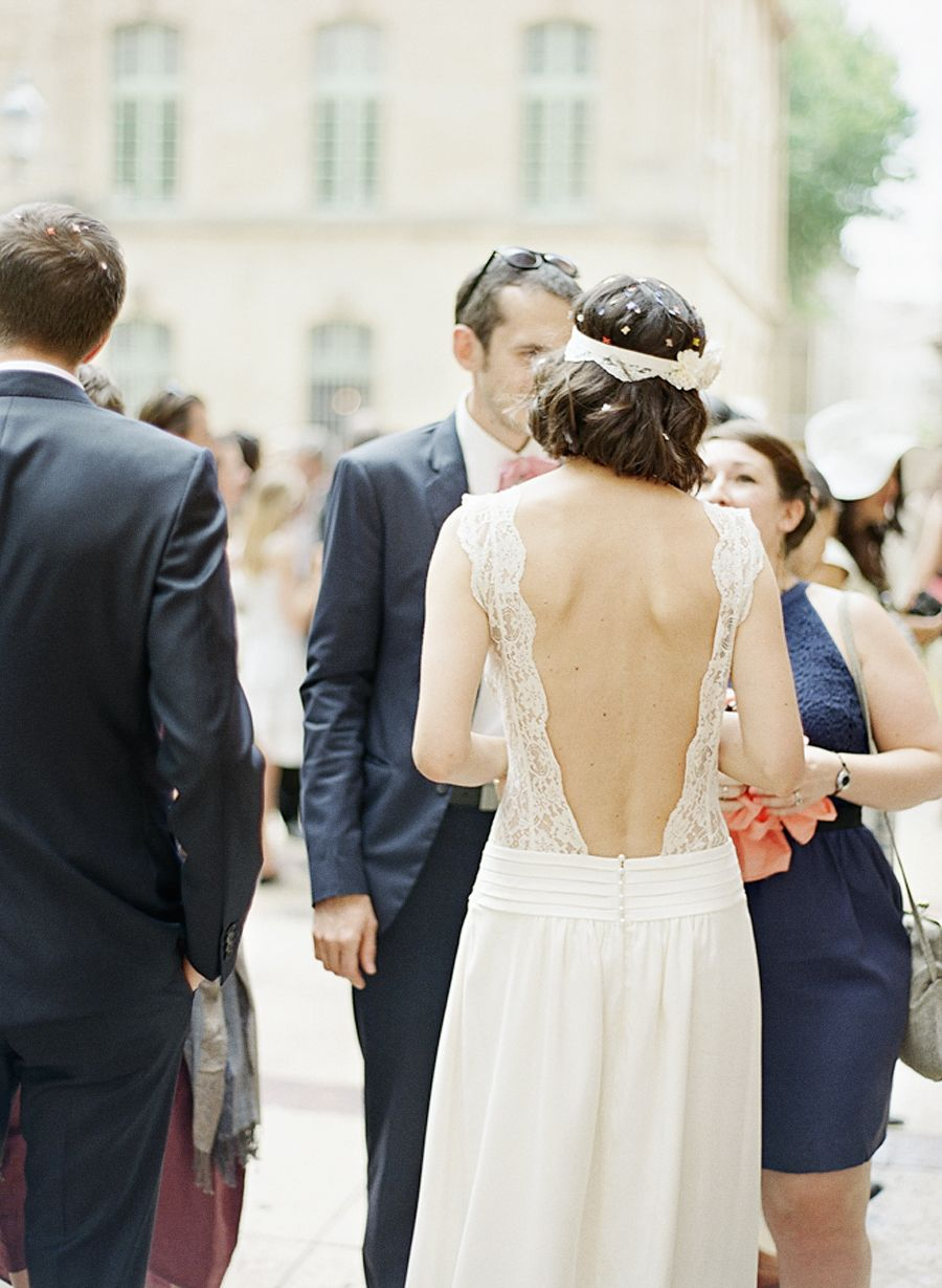 Beautiful wedding gown Aix en Provence, France   French wedding ...