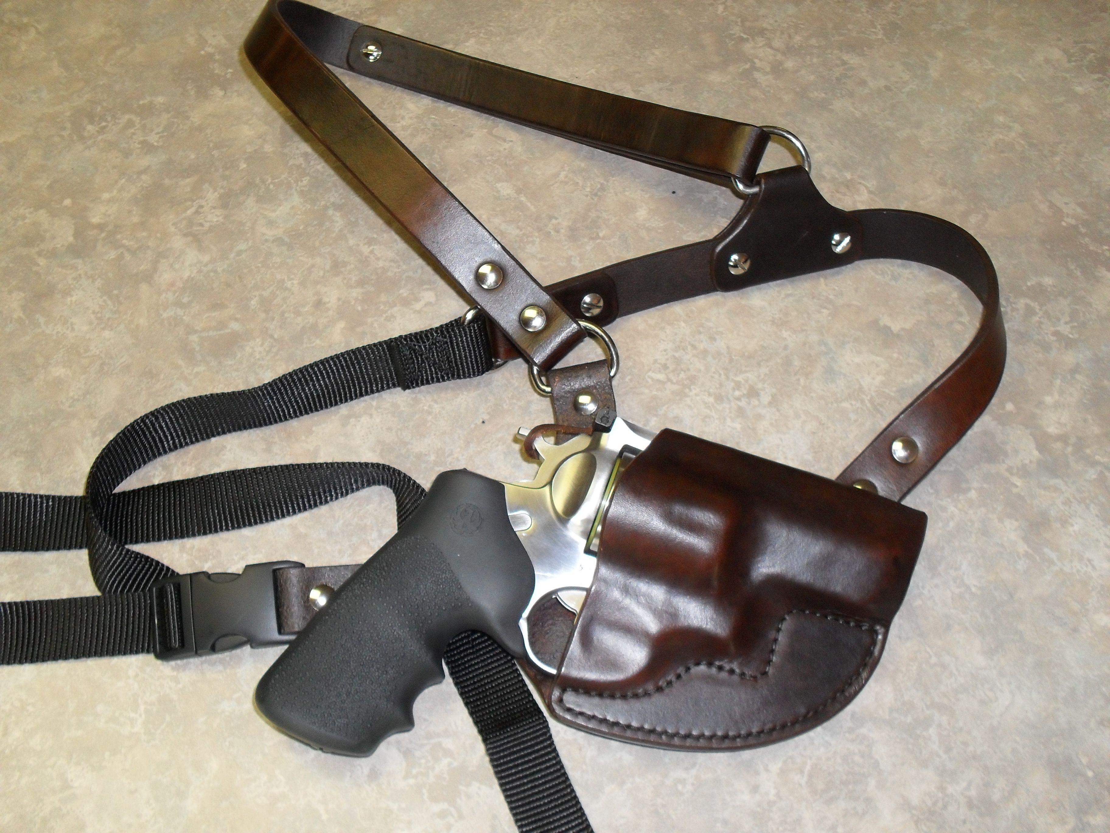 Ruger Super Redhawk Alaskan Chest Holster Jr Leather