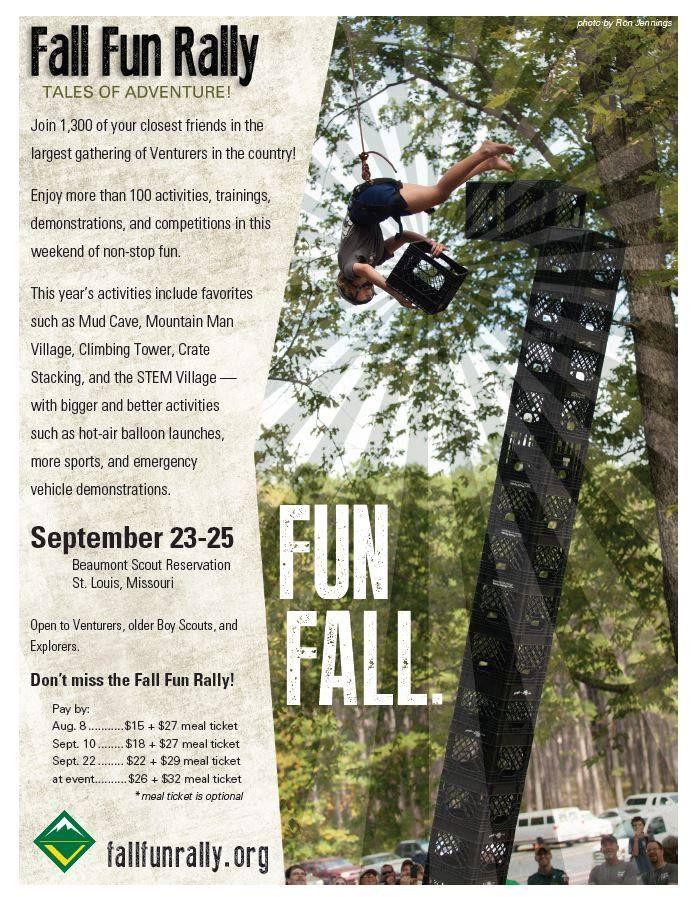 2016 Area 3 Fall Fun Rally - September 23-25, 2016