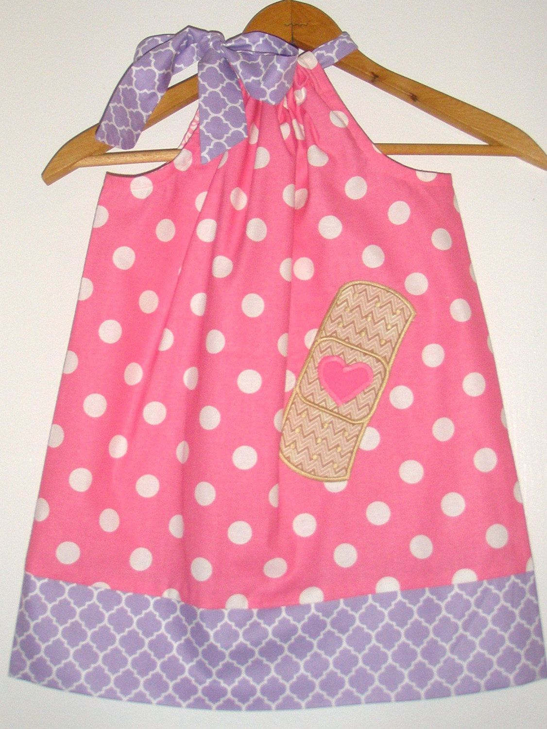 Doc McStuffin pillowcase dress SALE off coupon is pink lilac pillowcase dress month by ladyoutofcarolina on Etsy