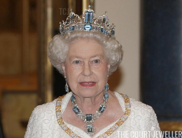 Queen Elizabeth Ii S Brazilian Aquamarine Parure The Court Jeweller British Crown Jewels Queen Elizabeth Elizabeth