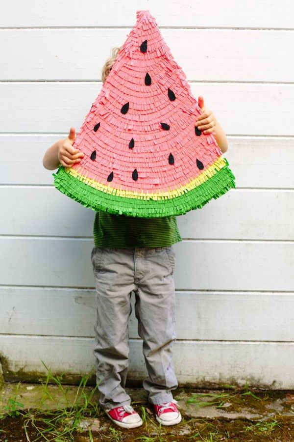 Your backyard has been missing this watermelon piñata all its life.