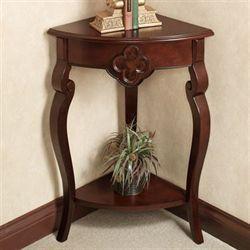 Kingscourt Corner Accent Table Regal Walnut Accent Table Decor