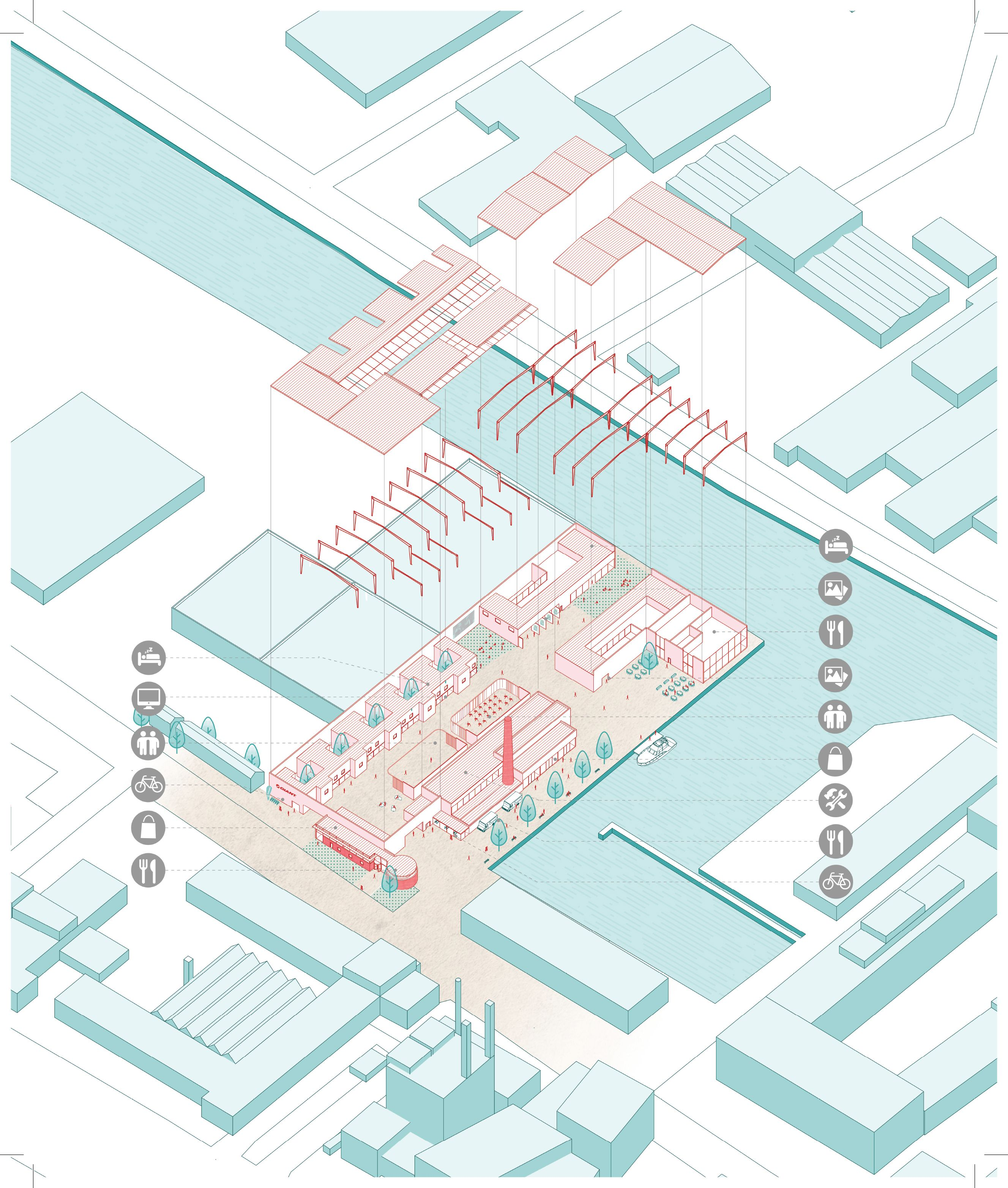 MSD M.Arch S2/16 - Stephanie Choy. Studio Thesis 04 - Opportunistic Urbanism. Tutors: Katherine Sundermann and Andy Fergus. Co-exist.