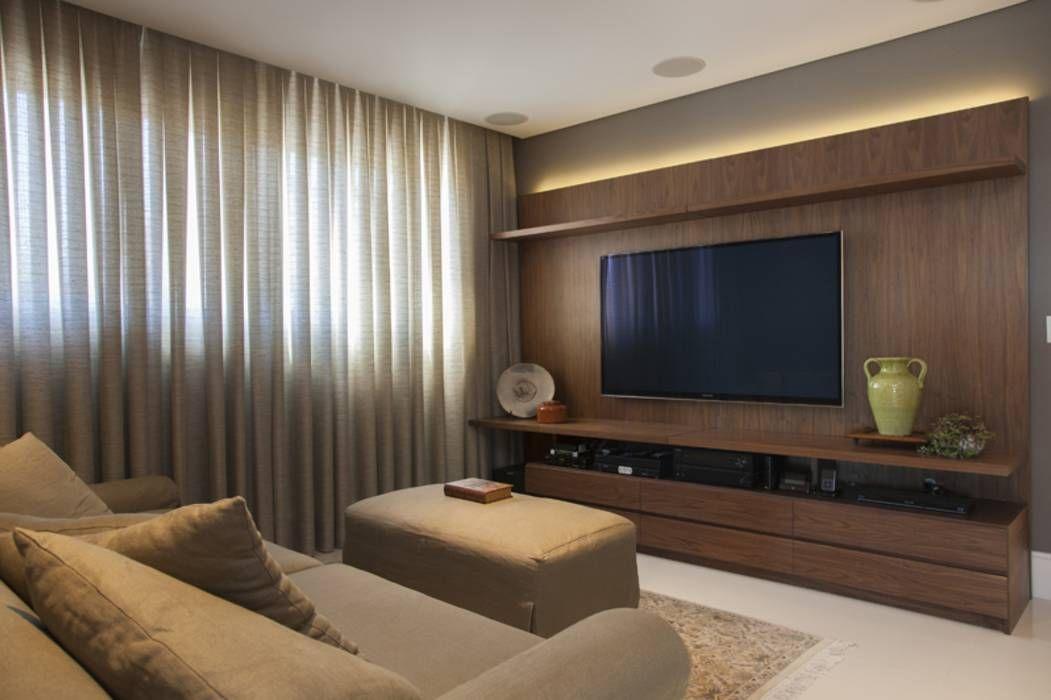 Fotos de decora o design de interiores e reformas for Sala tv moderna