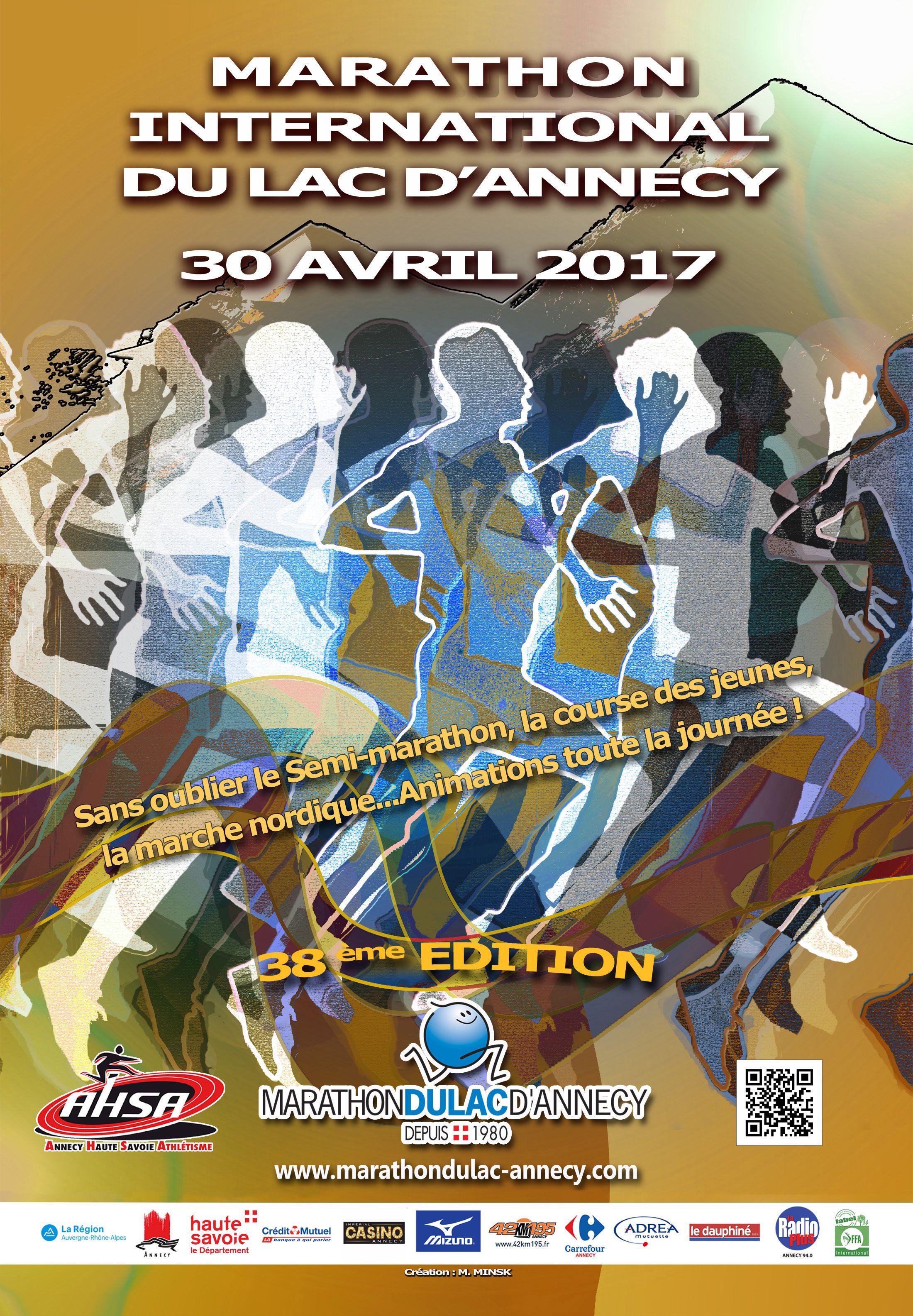 Marathon International Du Lac D Annecy Marathon Et Semi Marathon International Du Lac D