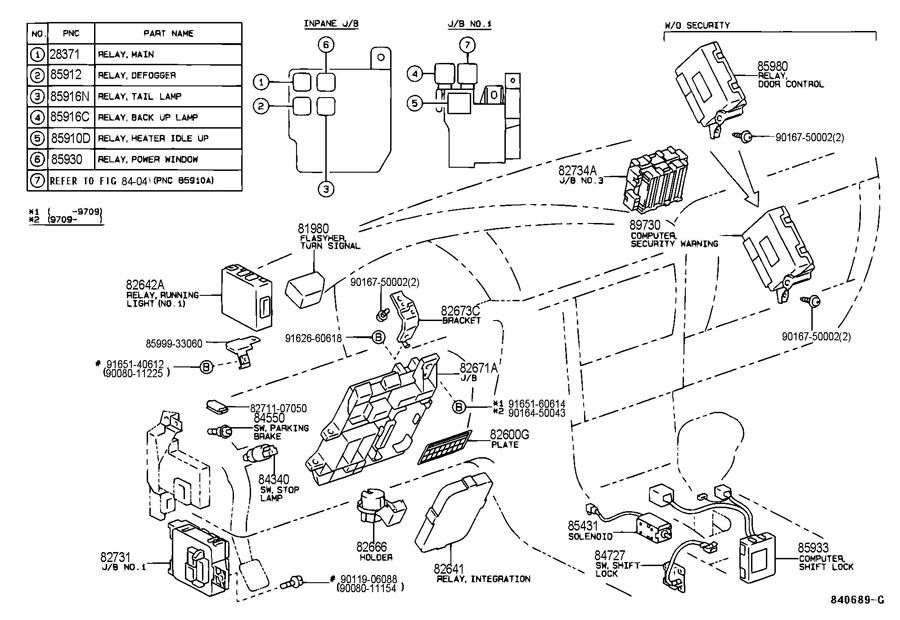 [SCHEMATICS_48IS]  95 Xls Factory Tvss Alarm - Keyless Remote Won't Program - Toyota with  regard to 1997 Toyota Camry Alarm System Location | Toyota camry, Camry, Wrx | 1990 Toyota Camry Fuse Box |  | Pinterest
