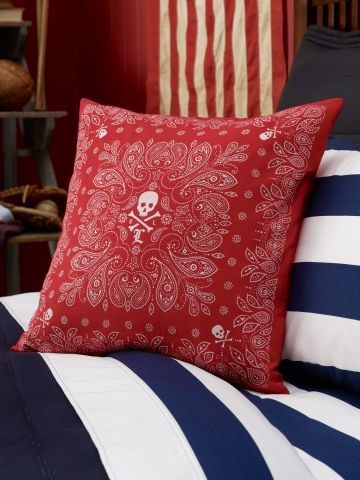 Ralph Lauren University Tate Bandana Pillow 29 99 Pillows