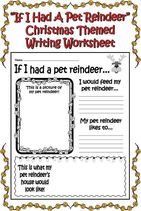 Kindergarten Christmas Worksheets & Free Printables | Education.com