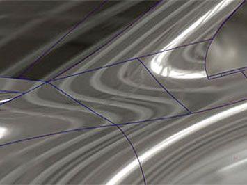 Alias Surface Tutorial: A-Pillar blend