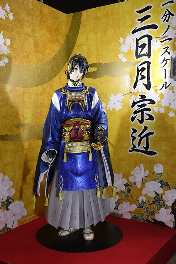 Good Smile Company Unveils LifeSize Touken Ranbu Figure