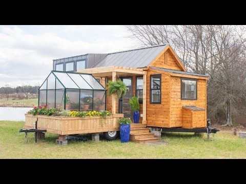 The Elsa - Tiny House for Sale in Taylors, South Carolina #tinyhouses