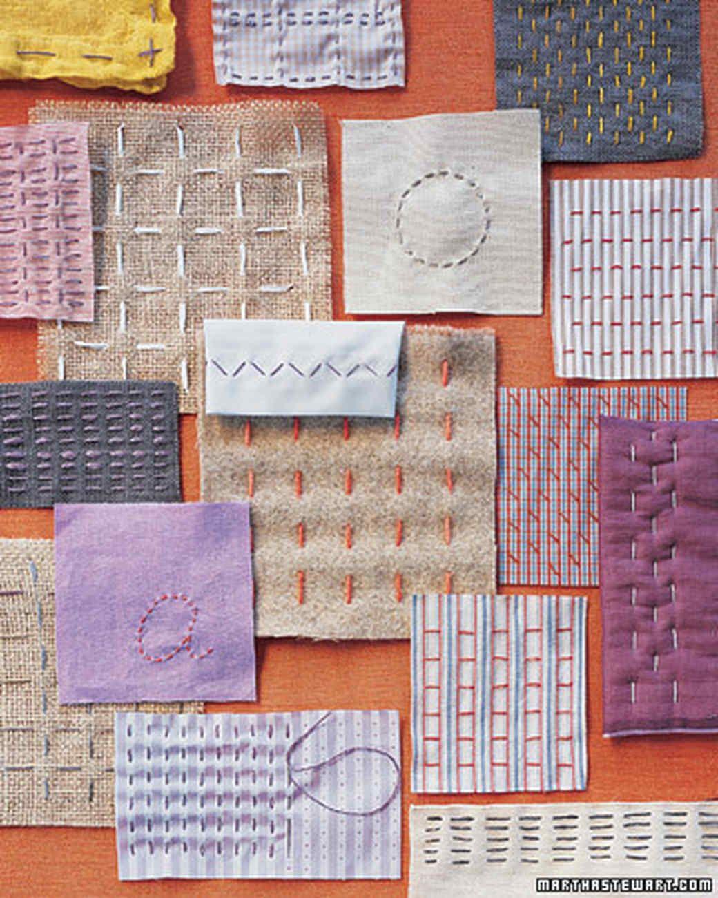 Linear Thinking Running Stitch Crafts