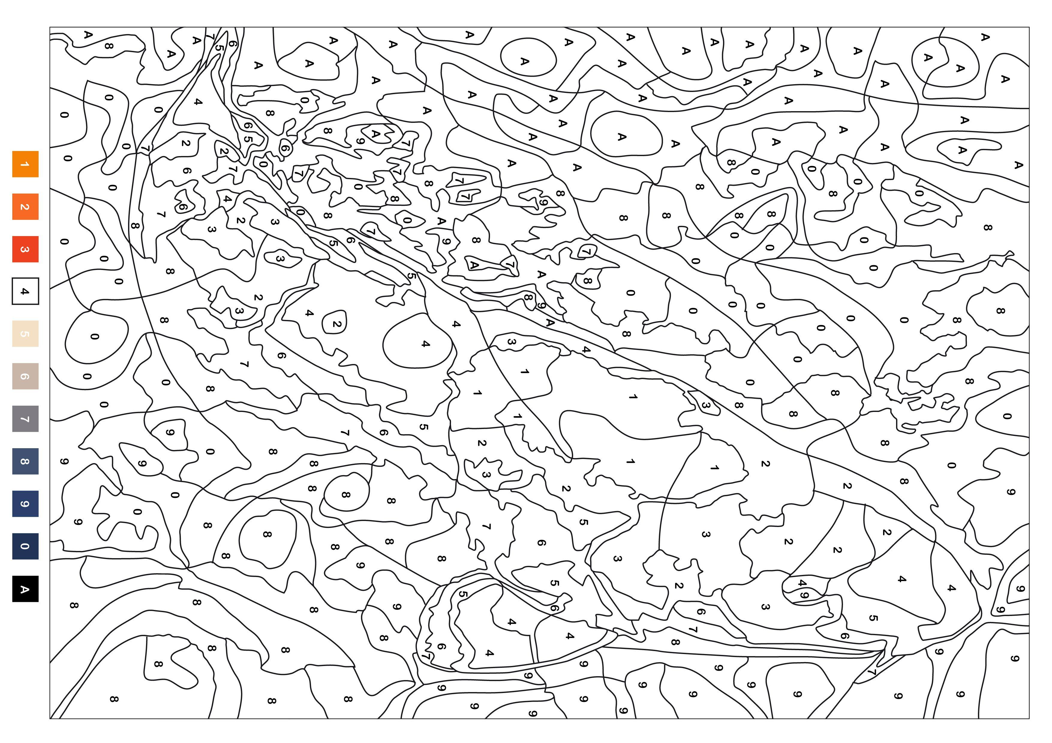 coloriages_mysteres.jpg 3 508 × 2 480 pixels | kolorowanki ...