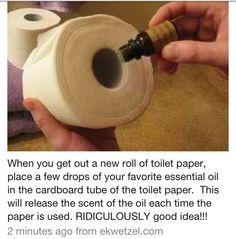 DIY Tumblr An Easy Way To Keep Your Bathroom Smelling Nice And - Bathroom smell good
