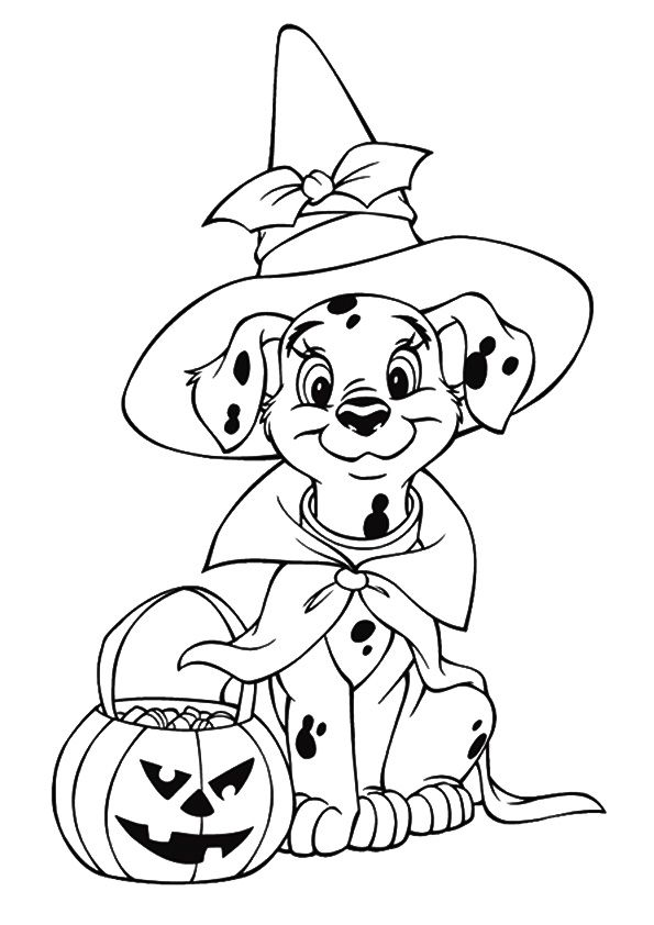 Print Coloring Image Momjunction Disney Coloring Pages Halloween Coloring Sheets Disney Halloween Coloring Pages