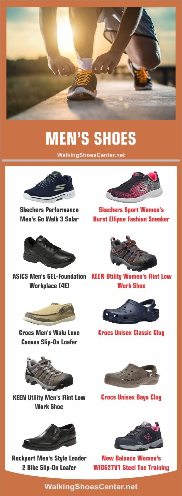 Best and Most Comfortable Shoes for Standing All Day Men