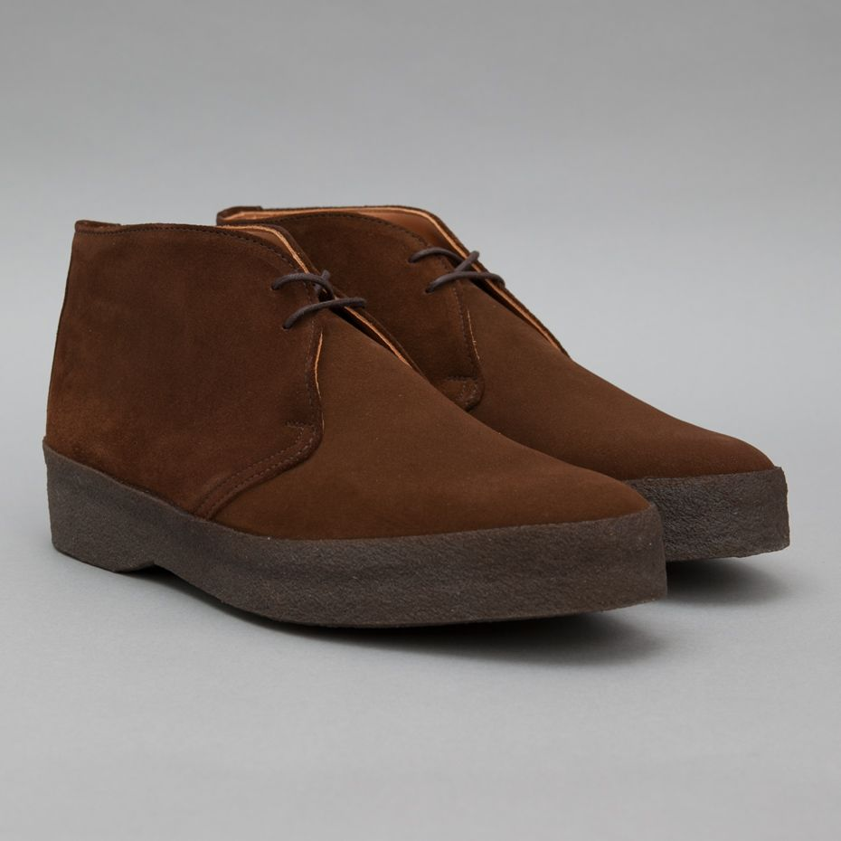 Sanders Joel Chukka Boot in Snuff Suede-Well, if they are good ...