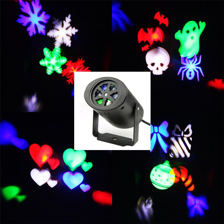 Waterproof Moving Snow Laser Projector Lamps Snowflake Led Stage Light For Christmas Party Landscape Light Led Stage Lights Stage Lighting Halloween Projector