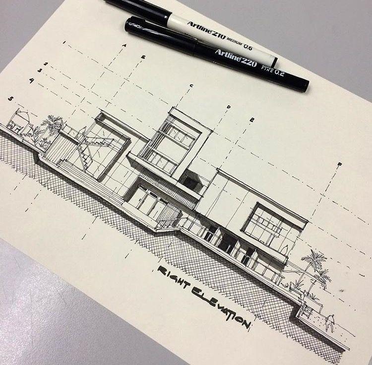 architecture design sketches. Brilliant Design Architecture Design And Design Sketches