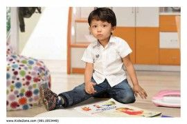 Portfolio of child model Aarav by KidieZone kids talent promotion company