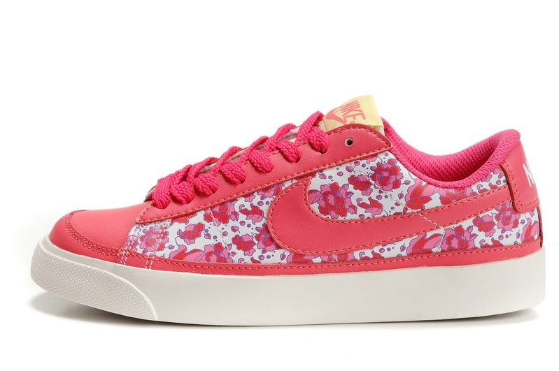 Nike WMNS Blazer Low 09 398778-600 Floral Pack! Only $74.40USD