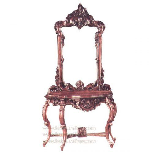 Buy Grape Carved Console With Mirror, High Quality French Furniture Made In  Indonesia We Have Huge Selection Of Bedroom Furniture In French Style  Design And