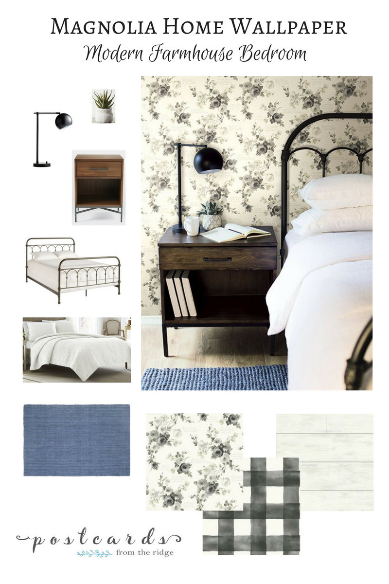 Capture the essence of farmhouse decor with these lovely wallpapers from Joanna Gaines' Magnolia Home collection. Includes shiplap and brick designs.