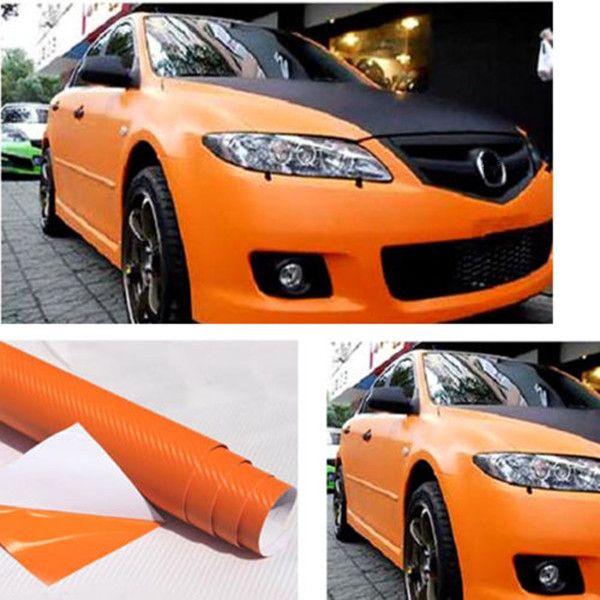 200x30cm diy carbon fiber vinyl wrap roll film sticker car decal sheet