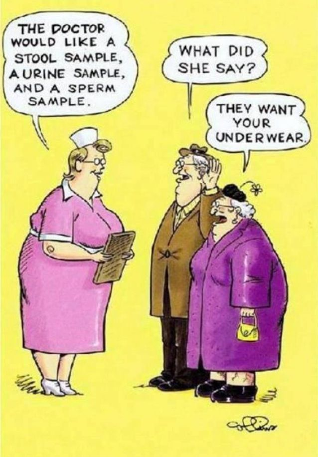 ... they want your underwear.