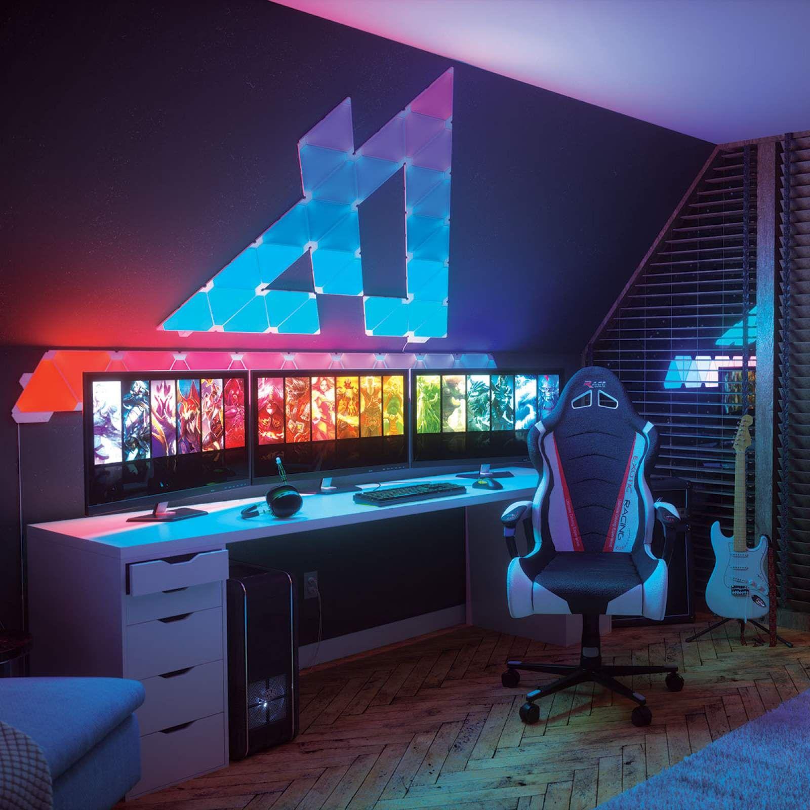 Pin Von Markus Haid Auf Gaming Room In 2020 Spielzimmer Design Gamer Zimmer Computerspielraum