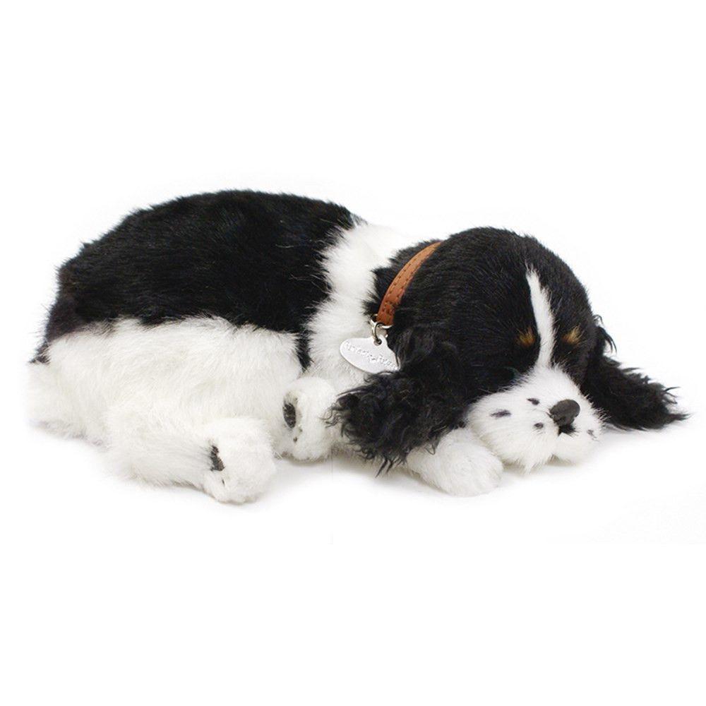 Perfect Petzzz Huggable Breathing Sleeping Plush Puppy Dog Pet