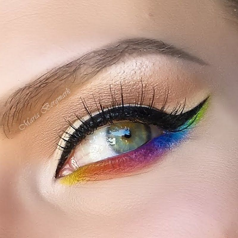 Accentuate your lower lash line with a cocktail of vibrant eyeshadow shades on your night out. Complete the look with winged out liner for added flair. DIY with this how-to and the must-haves.