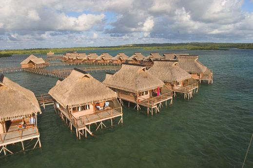 Flamingo Bay Water Lodge, Inhambane Bay, Mozambique