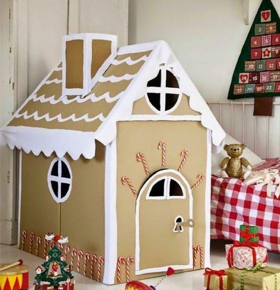 comment fabriquer une cabane en carton tuto et plusieurs mod les comment construire. Black Bedroom Furniture Sets. Home Design Ideas