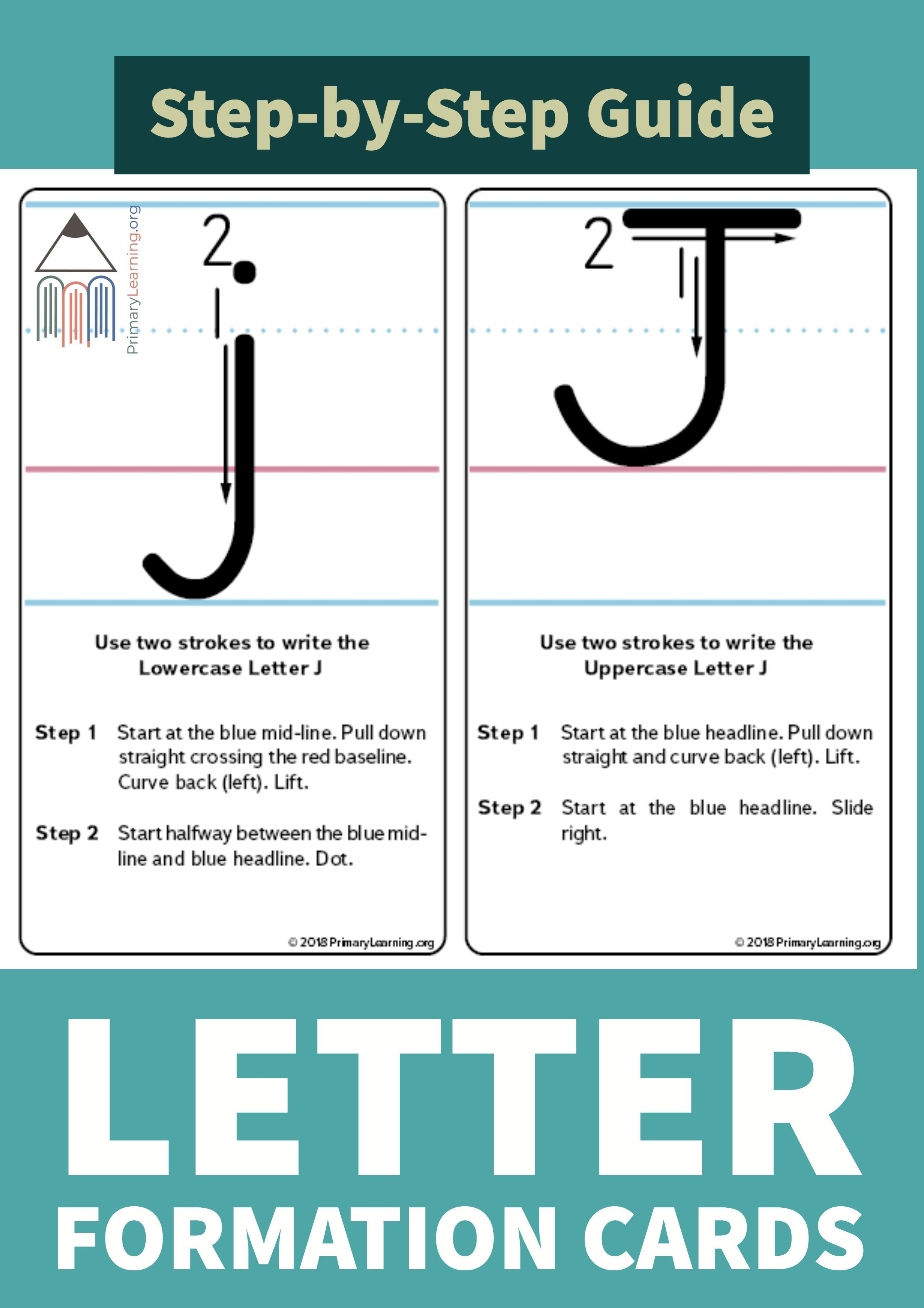 How To Write The Letter J