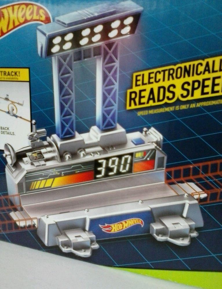 Hot Wheels Track Builder Digital Speedometer *NEW* #HotWheels   My