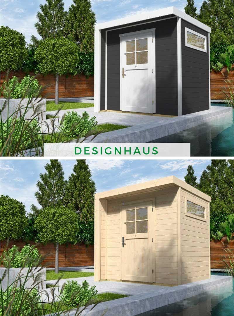 WEKA Designhaus 262 in 2020 Gartenhaus grau, Design