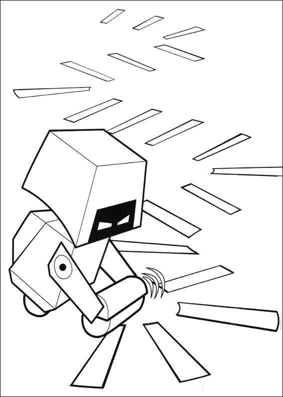 Dibujos para Colorear Wall-E 15 | Dibujos para colorear para niños ...