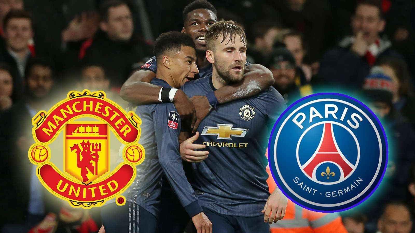 Prima Pagina Psg, Manchester united, Neymar