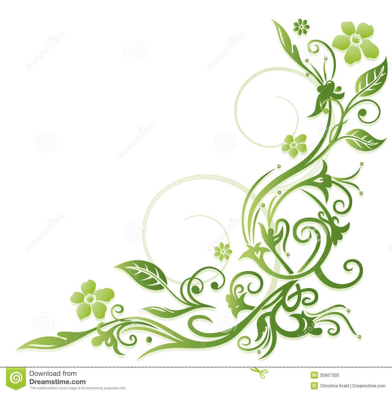 vectores florales verdes - Buscar con Google | Amor love | Pinterest ...
