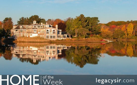 This exquisite 4030 square foot property is peacefully set along the banks of the Kennebunk River and is just a few steps to quintessential Kennebunkport. With over 400 feet of private riverfront, a riverside deck and private dock, this stunning offering is magnificently crafted with attention to every small detail.