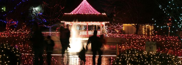 2 million lights on the campus in Broken Arrow OK  - you have to see it in  person to appreciate it.