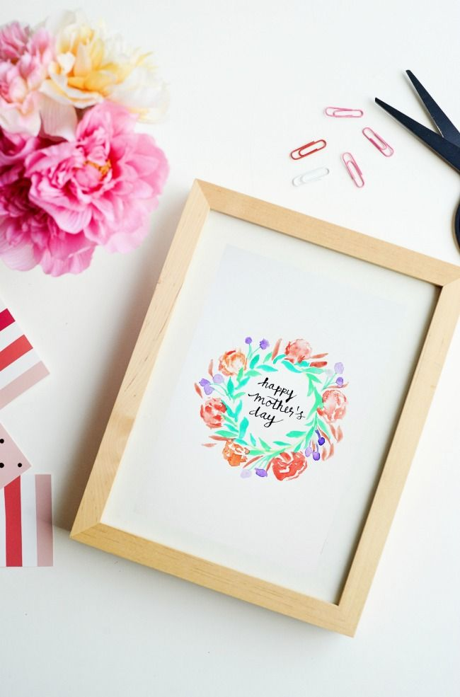 Hy Mothers Day Printable Muttertags Ideen Diy Zum Muttertag Geschenke Selber Machen